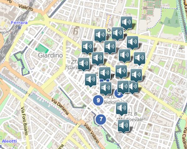 FERRARA SOUND MAP