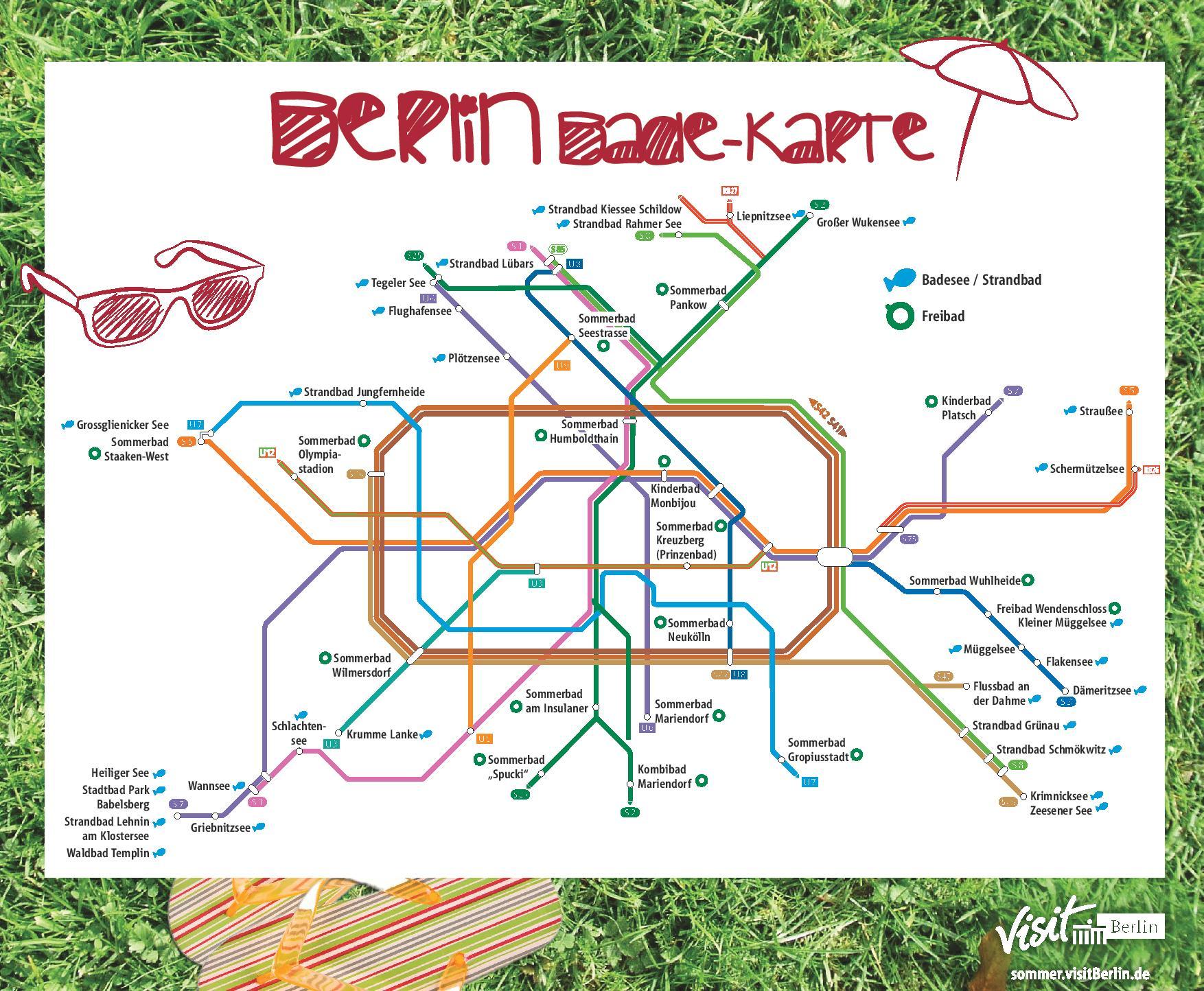 Die Berlin Bade-Karte